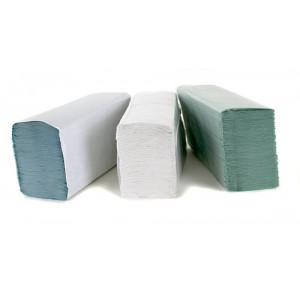 Z-Fold White Hand Towels 2 Ply