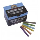 Coloured Dustless Chalk Per 100