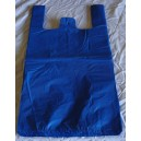 Blue Carrier Bags 12 x 18 x 24""