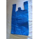 "Blue Carrier Bags 12 x 18 x 24"" Per 1000"