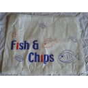 Fish & Chips Bags 14 x 11""