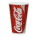 Coca - Cola Paper Cups 12 Oz