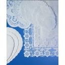Oval Dish Papers 22 x 16cm Per 250