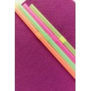Fluorescent Bendy Straws 9.5""