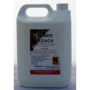 Power Bleach 'Thomco' 5 Ltr x 4