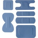 Blue Assorted Waterproof Plasters