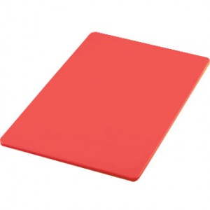 "Chopping Boards 18"" x 12"" Red"