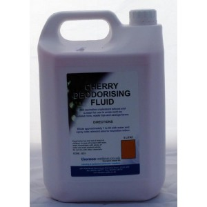 Cherry Deodoriding Fluid 'Thomco' 5 Ltr x 4