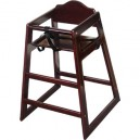 Wooden Highchair Bolero Dark Wood