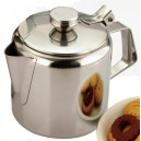 Teapot Stainless Steel 12oz