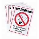 No Smoking In Premises
