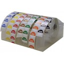 Dispenser filled with 25mm Labels 7 Boxes