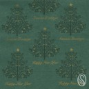 Festive Tree Mountain Pine 33cm 2 Ply Serviettes